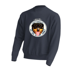 "Sudadera ""Dog Family"" Rottweiler"