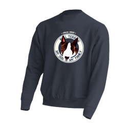 "Sudadera ""Dog Family"" Bull Terrier"
