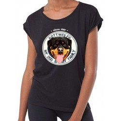 "Camiseta ""Dog Family"" Rottweiler"