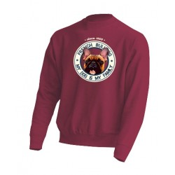 "Sudadera ""Dog Family"" Bulldog F"