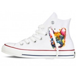 Converse All Star altas watercolor