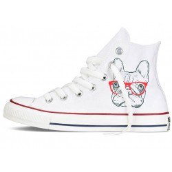 Converse All Star altas frenchie