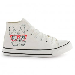 zapatillas lona altas frenchie
