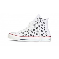 Converse All Star altas huellas
