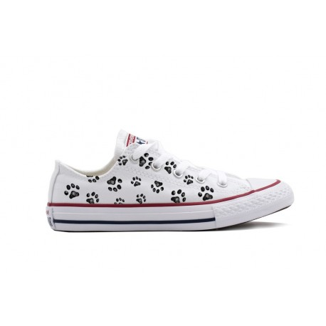 Converse All Star bajas huellas