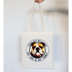 Totebag bulldog ingles