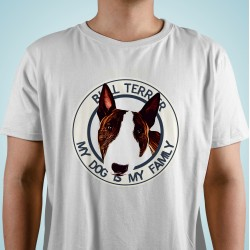 "Camiseta ""Dog Family"" Bull Terrier"
