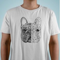 "Camiseta ""Geometric"" Bulldog"