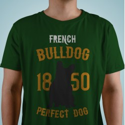 "Camiseta ""Perfect Dog"" bulldog francés"