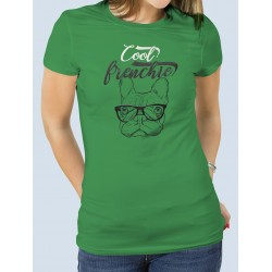 "Camiseta ""Cool Frenchie"" Bulldog Francés"