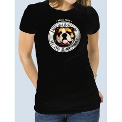 "Camiseta ""Dog Family"" Bulldog Inglés"