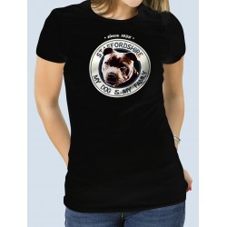 "Camiseta ""Dog Family"" Staffy"