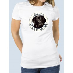 "Camiseta ""Dog Family"" Labrador"