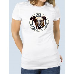 "Camiseta ""Dog Family"" Galgo"