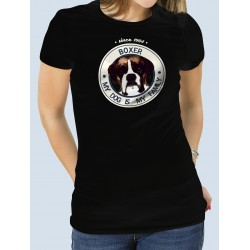"Camiseta ""Dog Family"" Boxer"