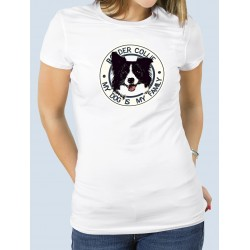 "Camiseta Border Collie ""Dog Family"""