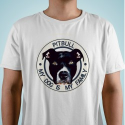 "Camiseta Pitbull ""Dog Family"""