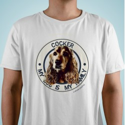 "Camiseta Cocker ""Dog Family"""